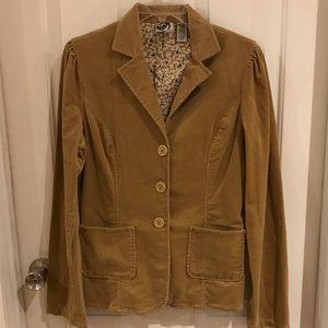 Roxy Jeans  | Light Brown Corduroy Blazer